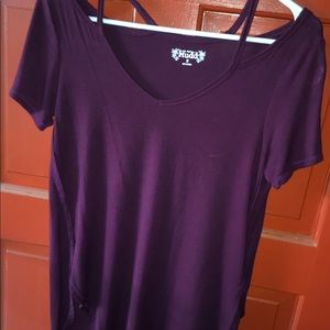 Loose Deep Purple Tee
